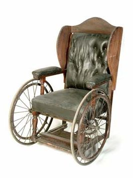 early wheelchair